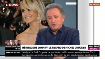 VIDEO – «Johnny Hallyday aurait voulu qu'on ferme sa gueule», Michel Drucker réagit aux tensions au sein de la famille