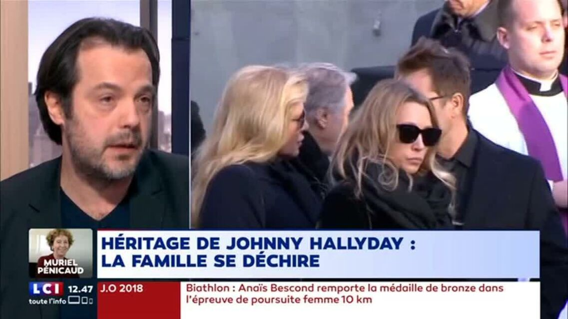 VIDEO – Tension entre Laeticia Hallyday et les aînés de Johnny: les signes avant-coureurs