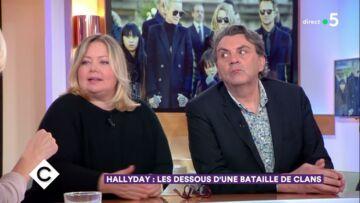 VIDEO – Sylvie Vartan «n'est pas de très bonne humeur, elle est furieuse depuis l'enterrement»