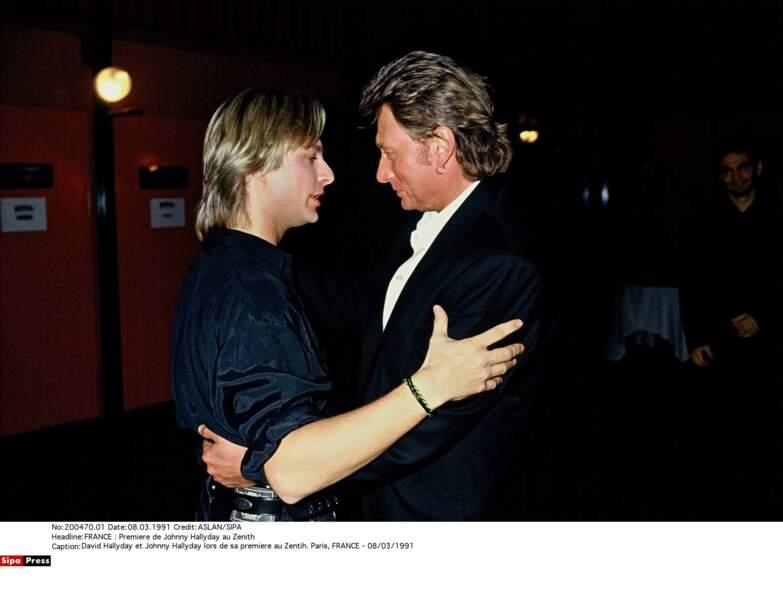 1991. David et son père