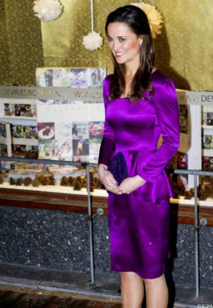 Pippa Middleton lors de la sortie de son livre, Celebration, en décembre 2012