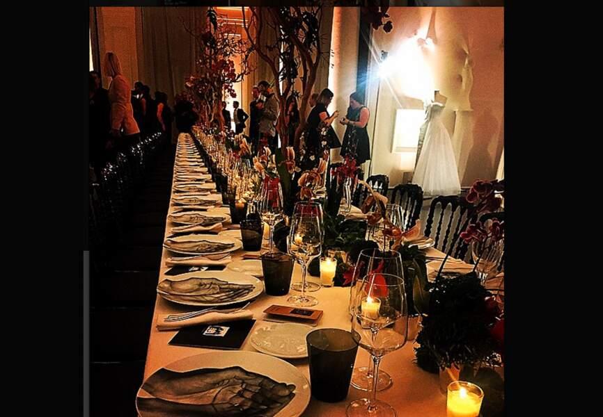 La table du diner, par Emery Doligé