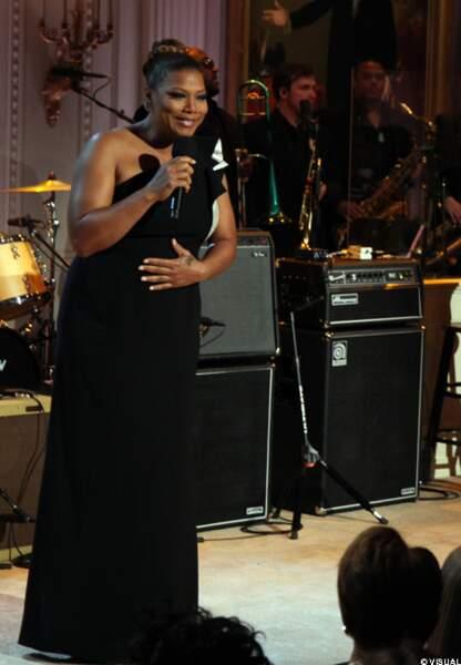 Queen Latifah à la Maison Blanche