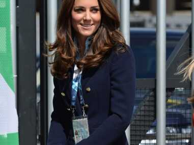 Princesse Kate en mode preppy