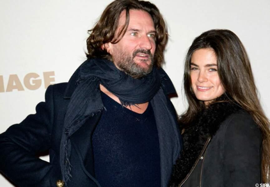 Premier photocall pour Frédéric Beigbeder et Lara Micheli le 20/11/2011 à l'avt 1ère de Carnage