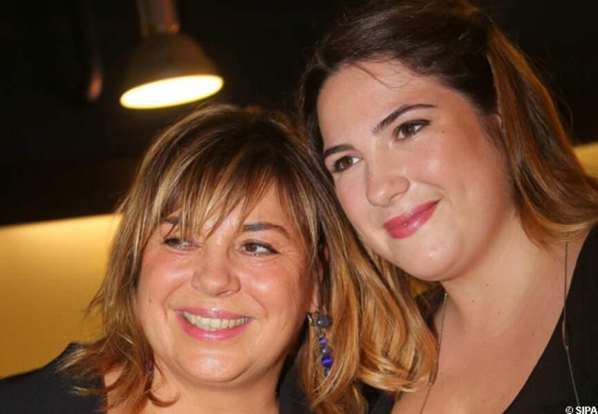 Michèle Bernier et sa fille Charlotte