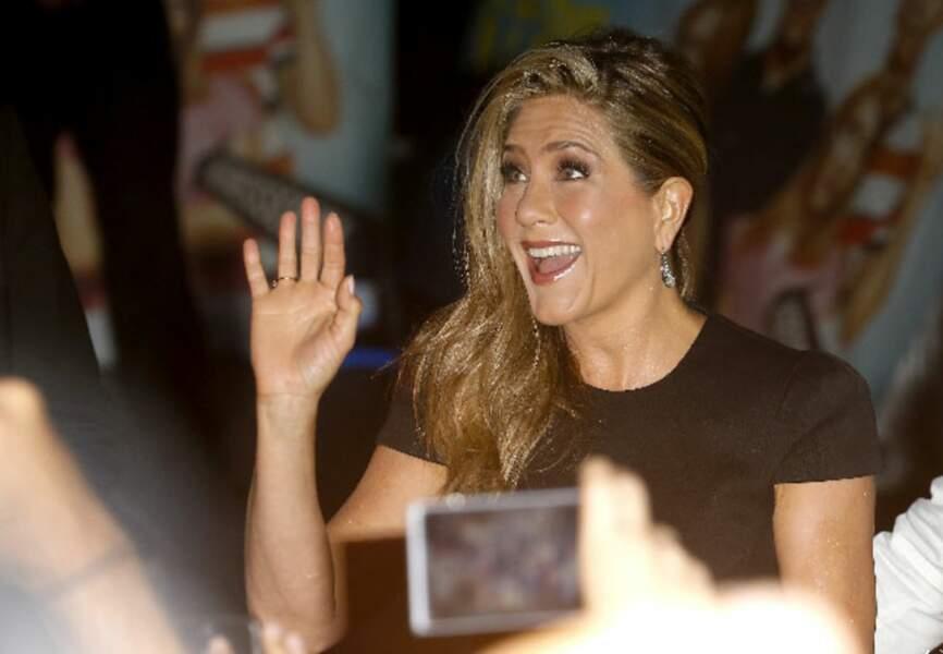 Jennifer est ses fans