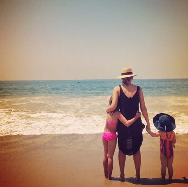 Jessica Alba et ses filles