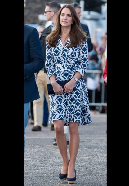 Sa robe porte-feuille Diane Von Furstenberg