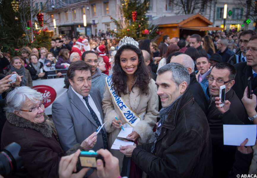 Miss France accueillis comme la reine qu'elle est