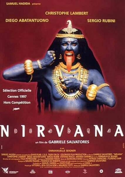Emmanuelle Seigner dans Nirvana de Gabriele Salvatore en 1997