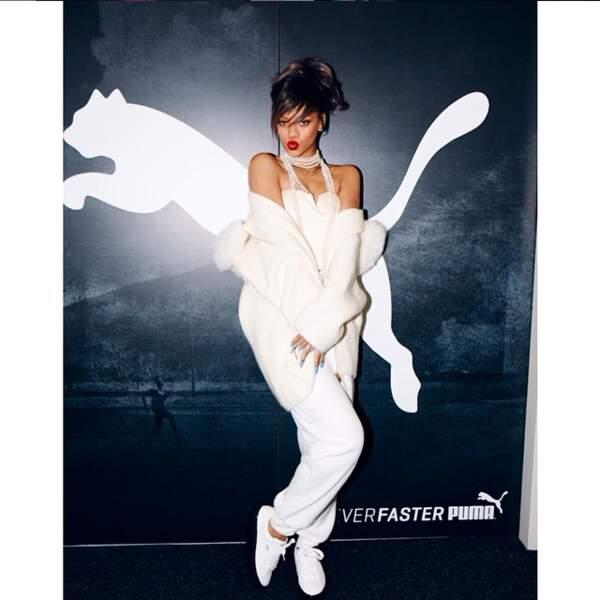 Rihanna pour Puma