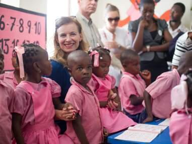 Valérie Trierweiler libre à Haïti