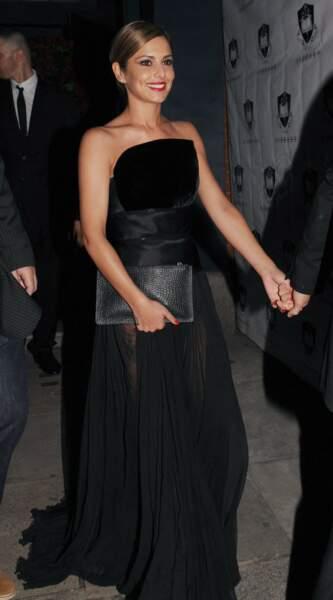 """Se marier en noir ? Cheryl Cole l'a fait. C'est ce qu'on appelle un """"fashion statement"""""""