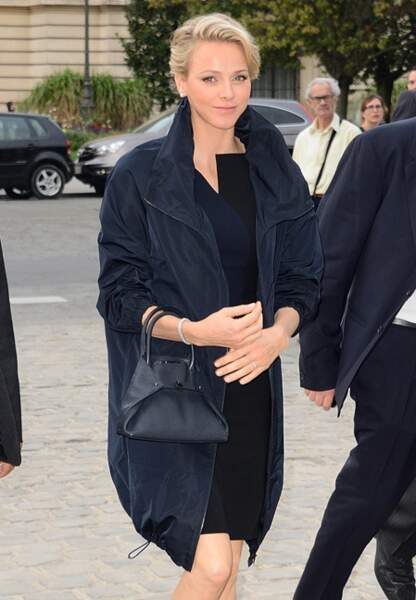 Charlène de Monaco se presse au Grand Palais