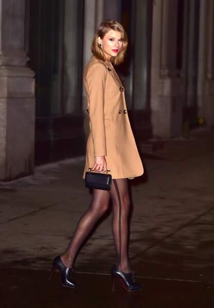 Taylor Swift, classe dans les rues de New York, janvier 2015