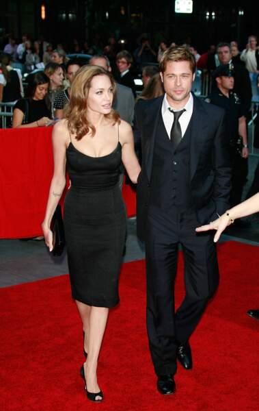 Avec Brad Pitt, elle forme l'un des couples les plus glamours d'Hollywood