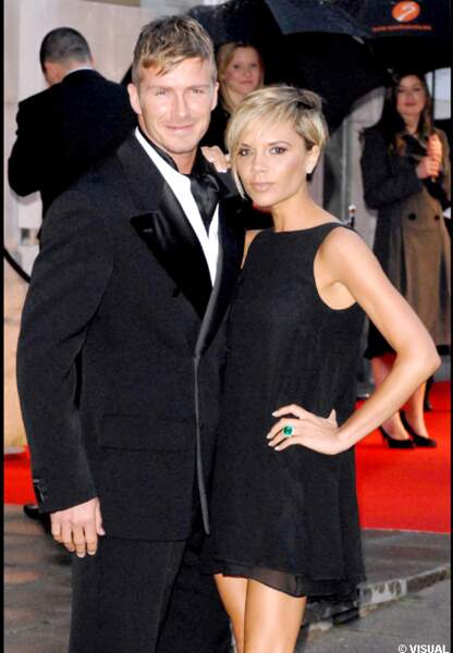 En 2007, le couple Beckham assorti son style