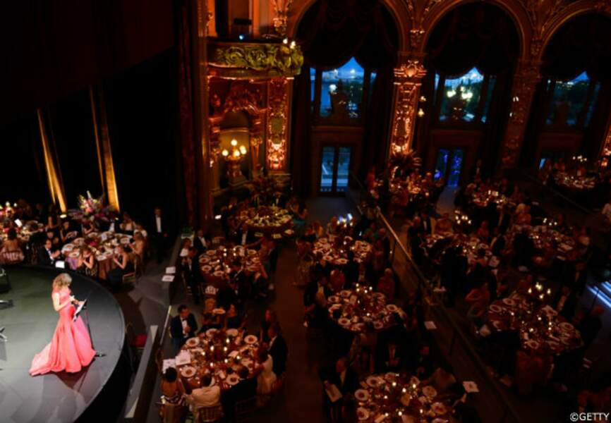 Le gala de charité Love Ball a réuni du très beau monde à l'opéra Garnier de Monaco.