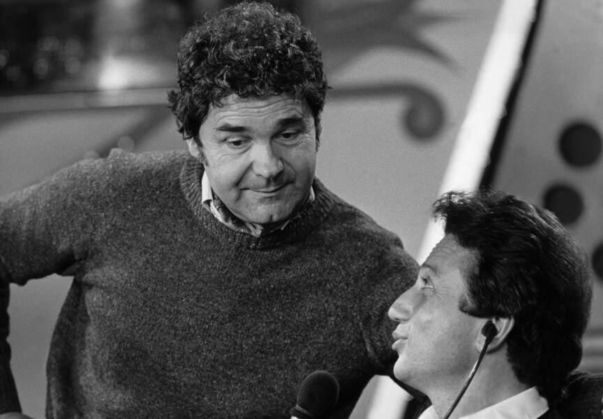 1985, il est déjà l'invité de Michel Drucker. Ici pour l'émission Studio 1 sur l'antenne d'Europe 1
