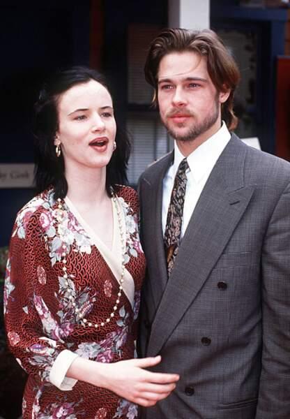 Brad Pitt en couple avec Juliette Lewis en 1992