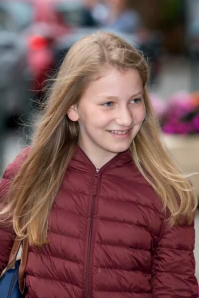 Elisabeth, 13 ans, princesse héritière du royaume de Belgique