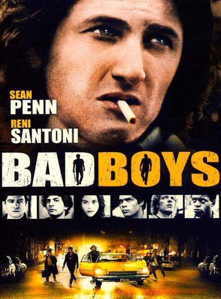 """En 1983, Sean Penn joue le rôle d'un jeune Malfrat envoyé en prison dans le film """"Bad Boys"""""""