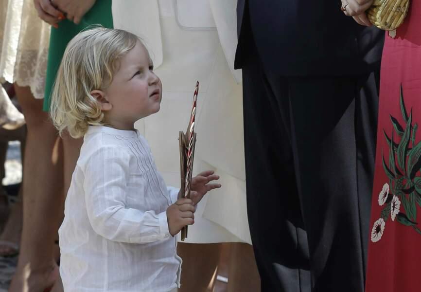 Sacha, le fils d'Andréa Casiraghi régale sa grand-mère, Caroline de Monaco