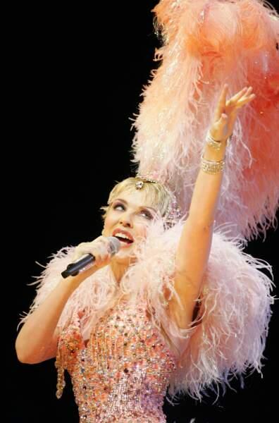 Kylie Minogue, en pleine forme