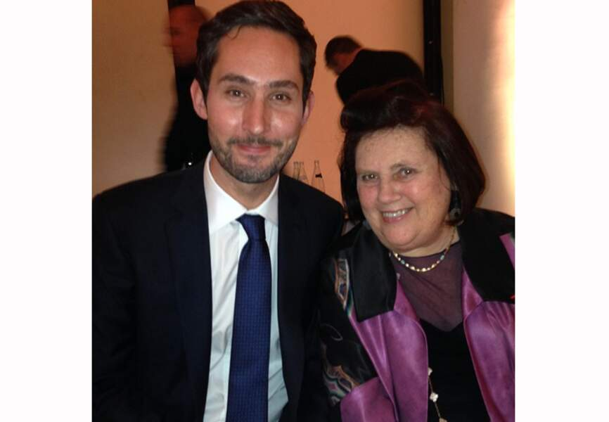 Suzy Menkes et Kevin Systrom