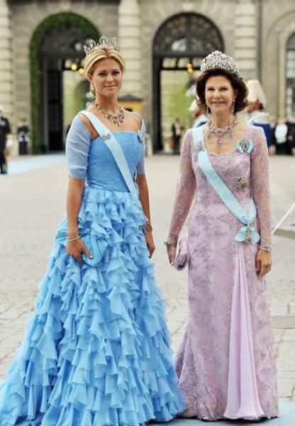 Juin 2010: Madeleine marie sa soeur Victoria de Suède