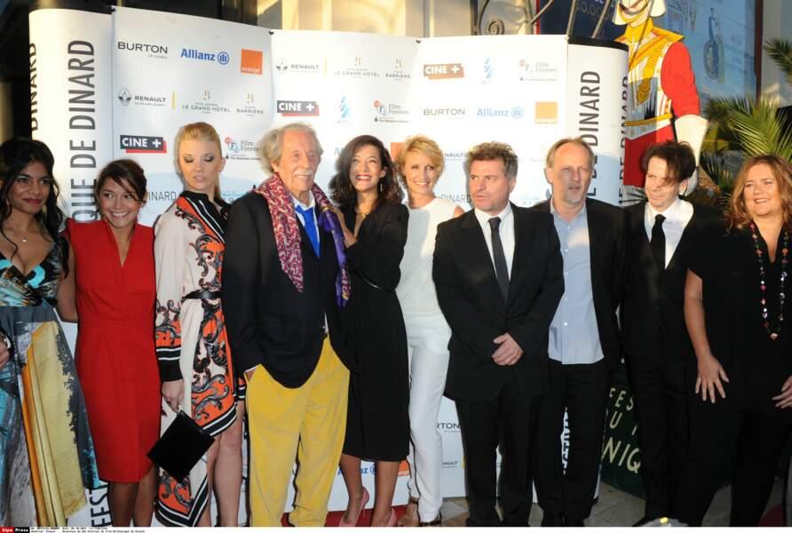 Dinard  .  Ouverture du 26e Festival du Film Britannique de Dinard.