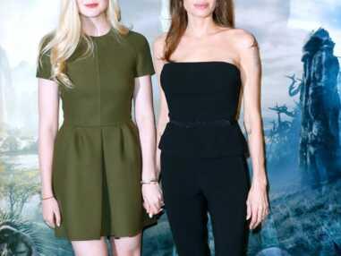 Angelina Jolie et Elle Fanning, un style bien Maléfique