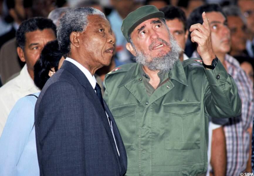avec Fidel Castro