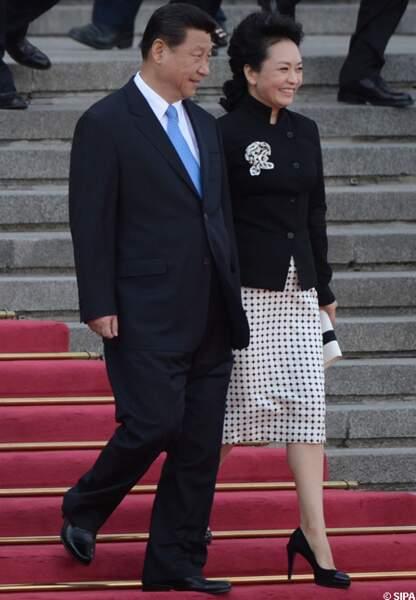 Xi Jinping et Peng Liyuan