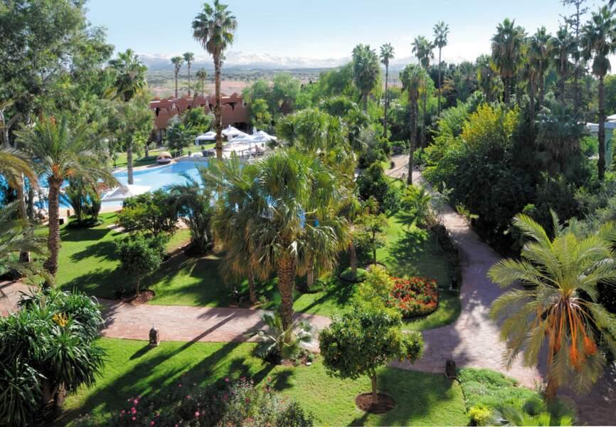 Le jardin luxuriant du Es Saadi