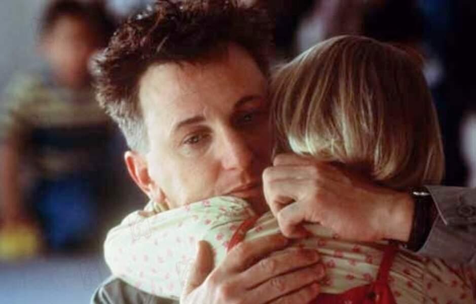"""Sean Penn est nominé aux Oscars pour son rôle dans """"Sam, je suis Sam"""", en 2002"""