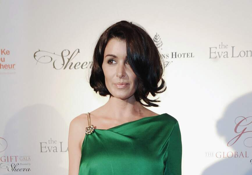 Jenifer : Petite coupe sixties lors du Global Gift Gala en 2012