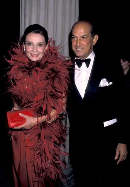 Oscar de la Renta et Audrey Hepburn