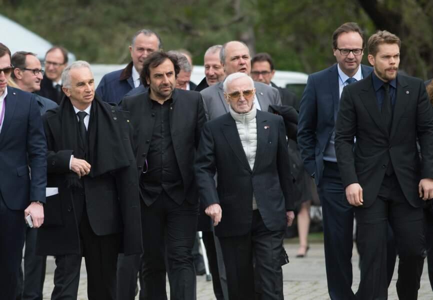 Charles Aznavour et André Manoukian