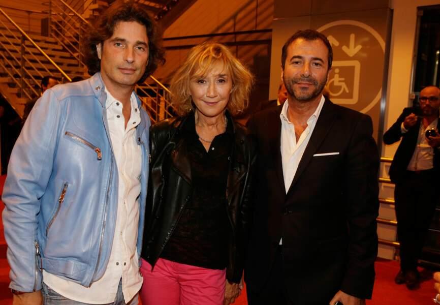 Richard Orlinski, Marie-Anne Chazel et Bernard Montiel
