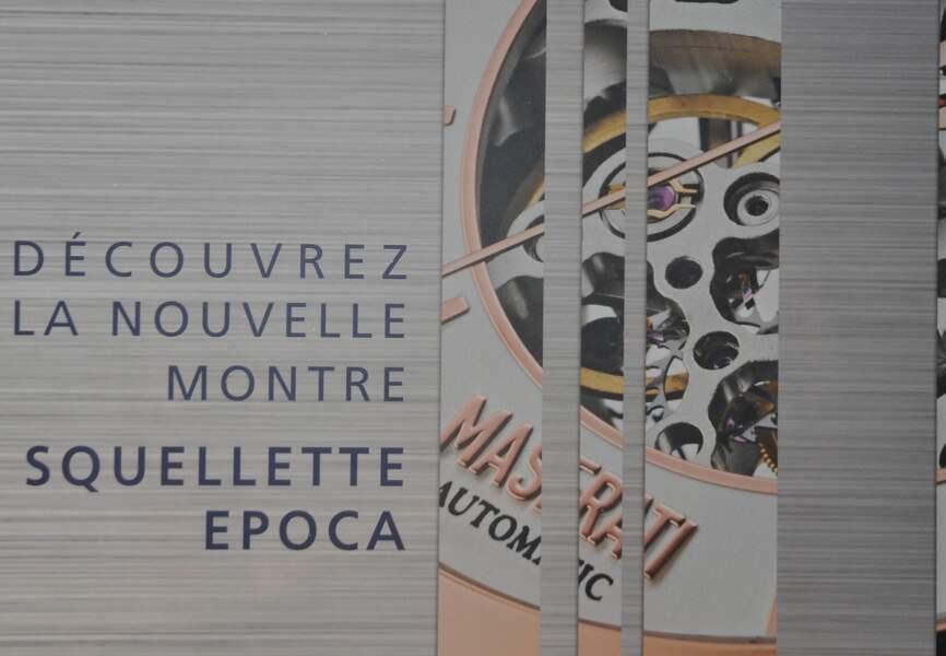 La soirée #Maseratitime célébrait la nouvelle montre Epoca Squelette