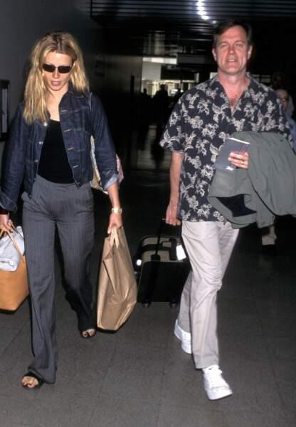 Avec Stephen Collins en l'an 2000