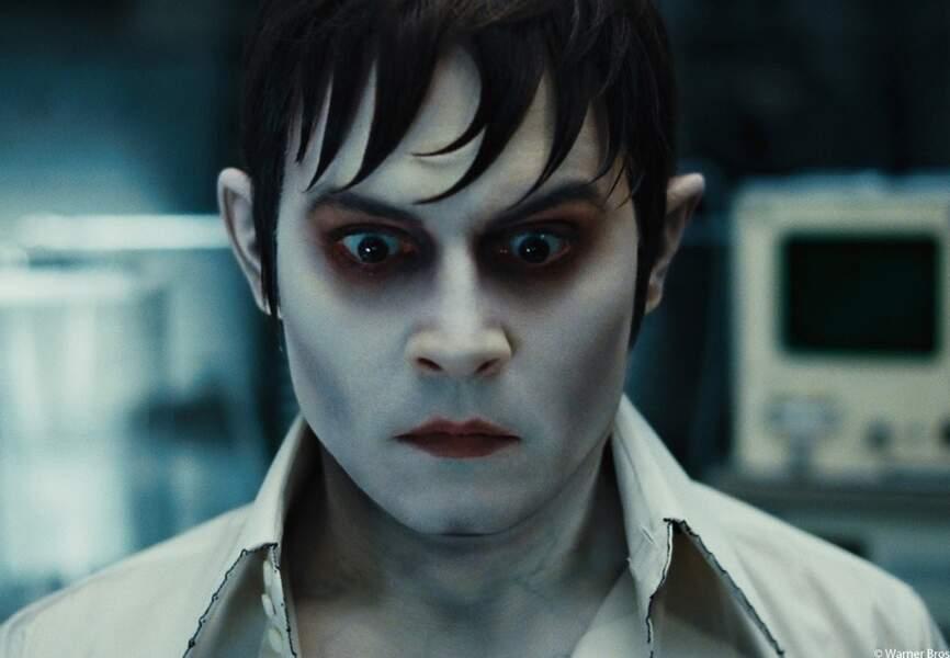 Vampire séduisant dans Dark Shadows