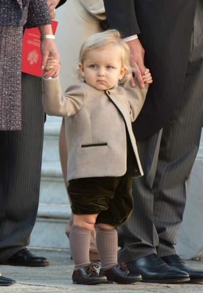 Difficile d'être plus BCBG que le petit-fils de Caroline de Monaco, Sacha Casiraghi