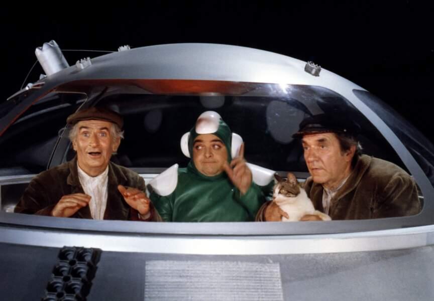 La Soupe aux Choux de Jean Girault (1981). Avec Jacques Villeret et Jean Carmet