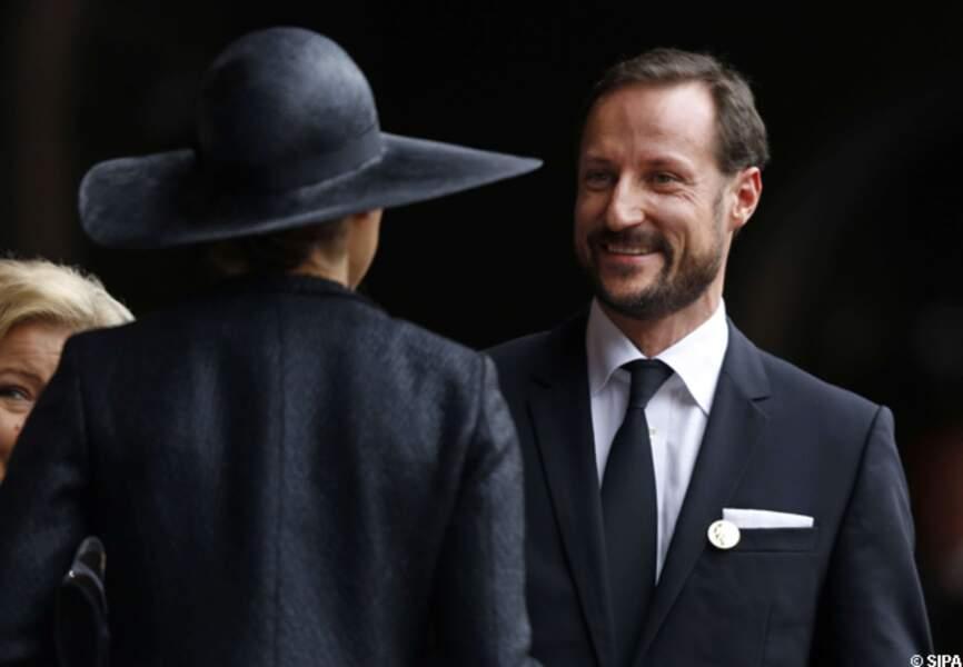 Le prince Haakon de Norvège