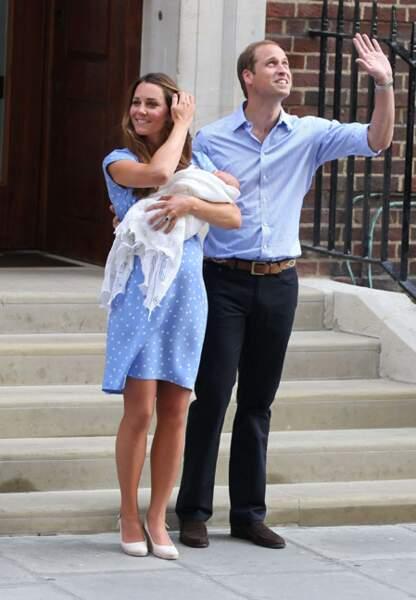 Kate et William ont pris la pose