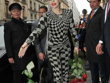 Lady Gaga fait son show à Paris