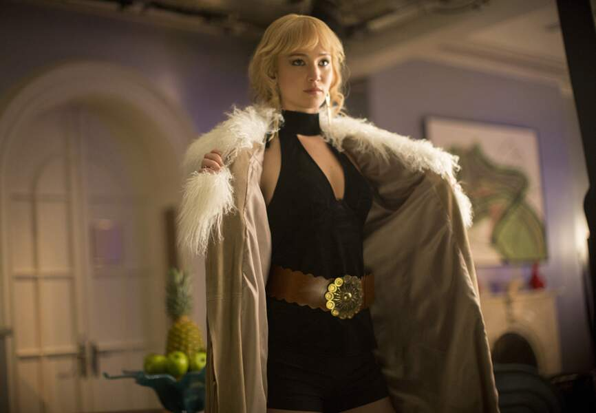 Jennifer Lawrence sous sa forme humaine